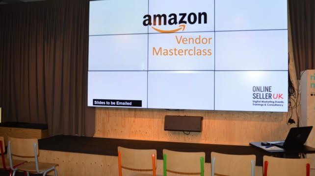 Amazon VENDOR Master Class Training Course - Online Seller UK