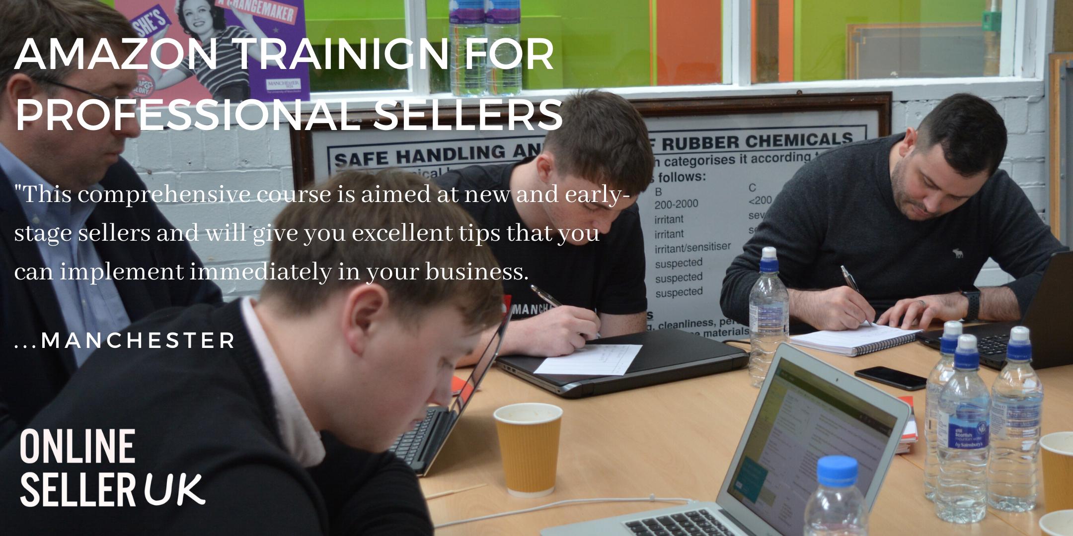 amazon seller central training in manchester uk based. Black Bedroom Furniture Sets. Home Design Ideas