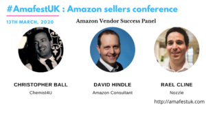 Amazon Vendor Panel Discussion #AmafestUK 2020