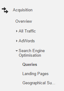 Search Engine Optimisation Report - Online Seller UK