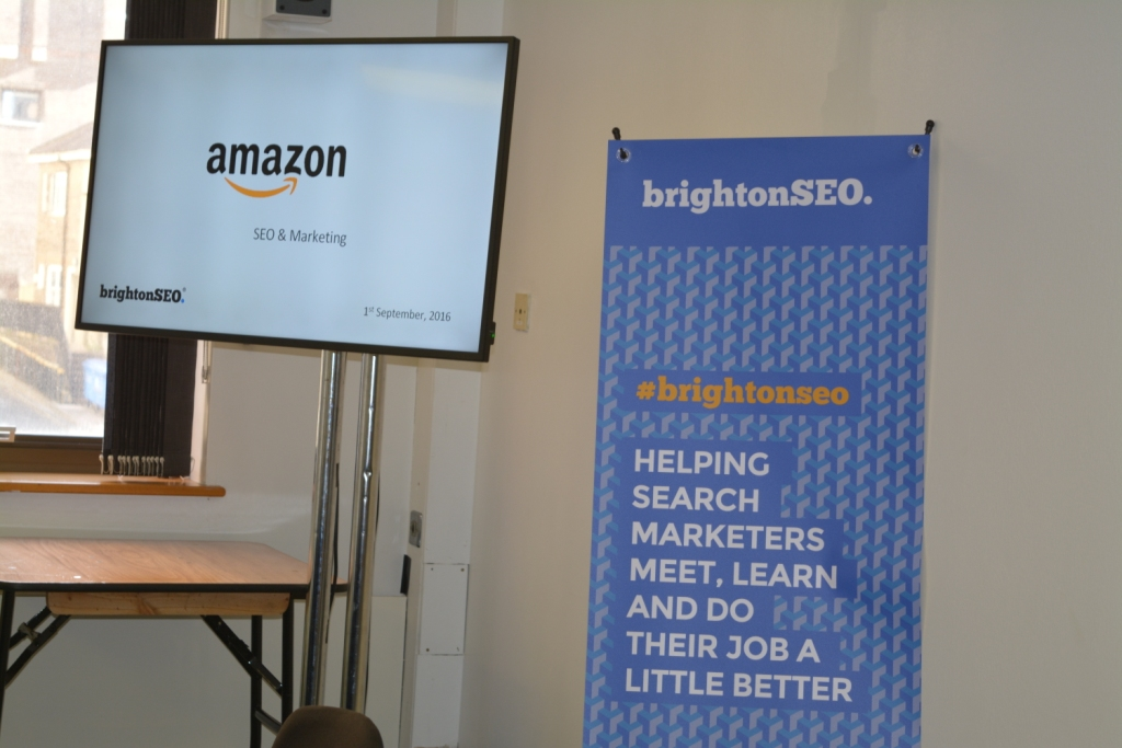 Amazon SEO and Marketing Course at BrightonSEO