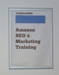 Amazon SEO and Marketing Training BrightonSEO
