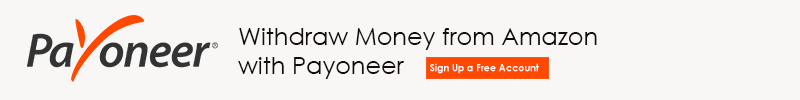 Withdraw money from Amazon with Payoneer