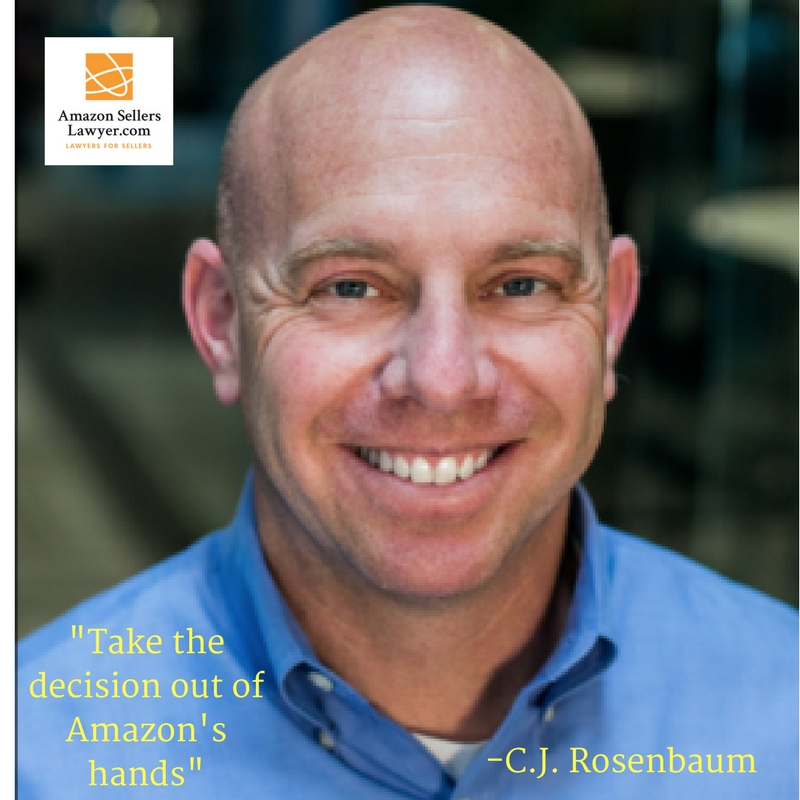CJ Rosenbaum Amazon Seller Lawyers