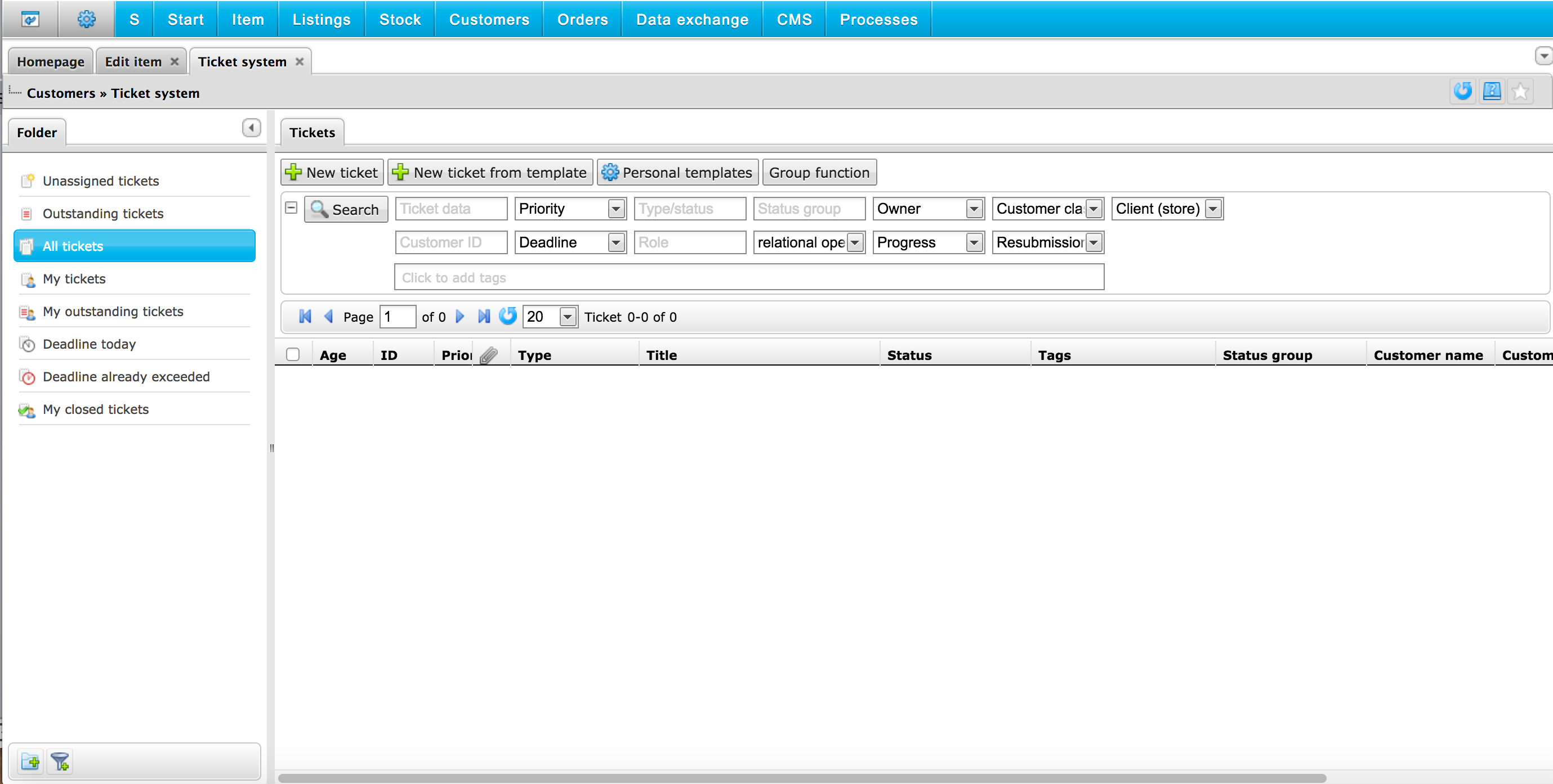 PlentymarketsUk crm tool
