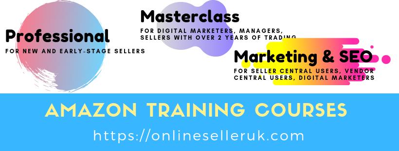 Amazon Seller  Vendor Central SEO Marketing Advertising Training Workshop Courses